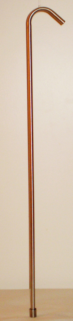 """3/8"""" Stainless Steel Racking Cane 30 inch"""