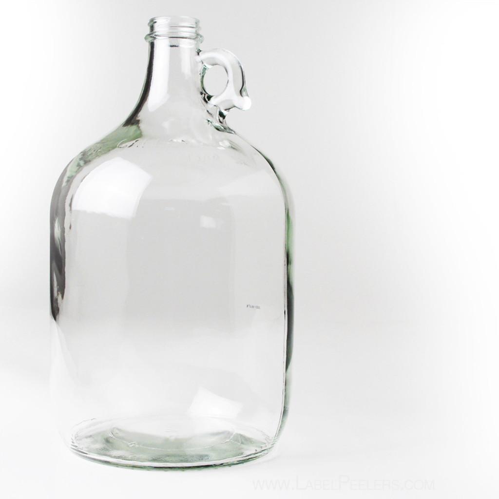 Clear Glass Jug 1 Gallon - 4/Case