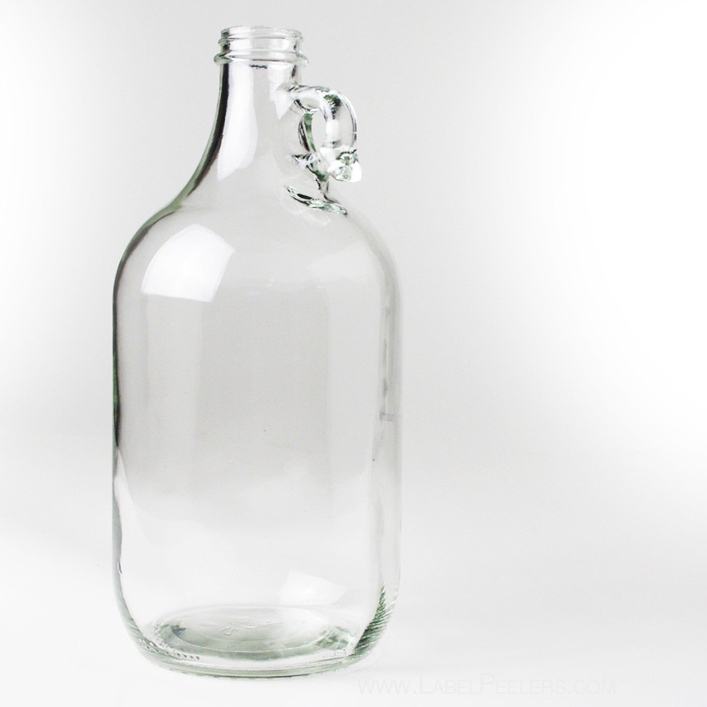 Clear Half Gallon Glass Jug