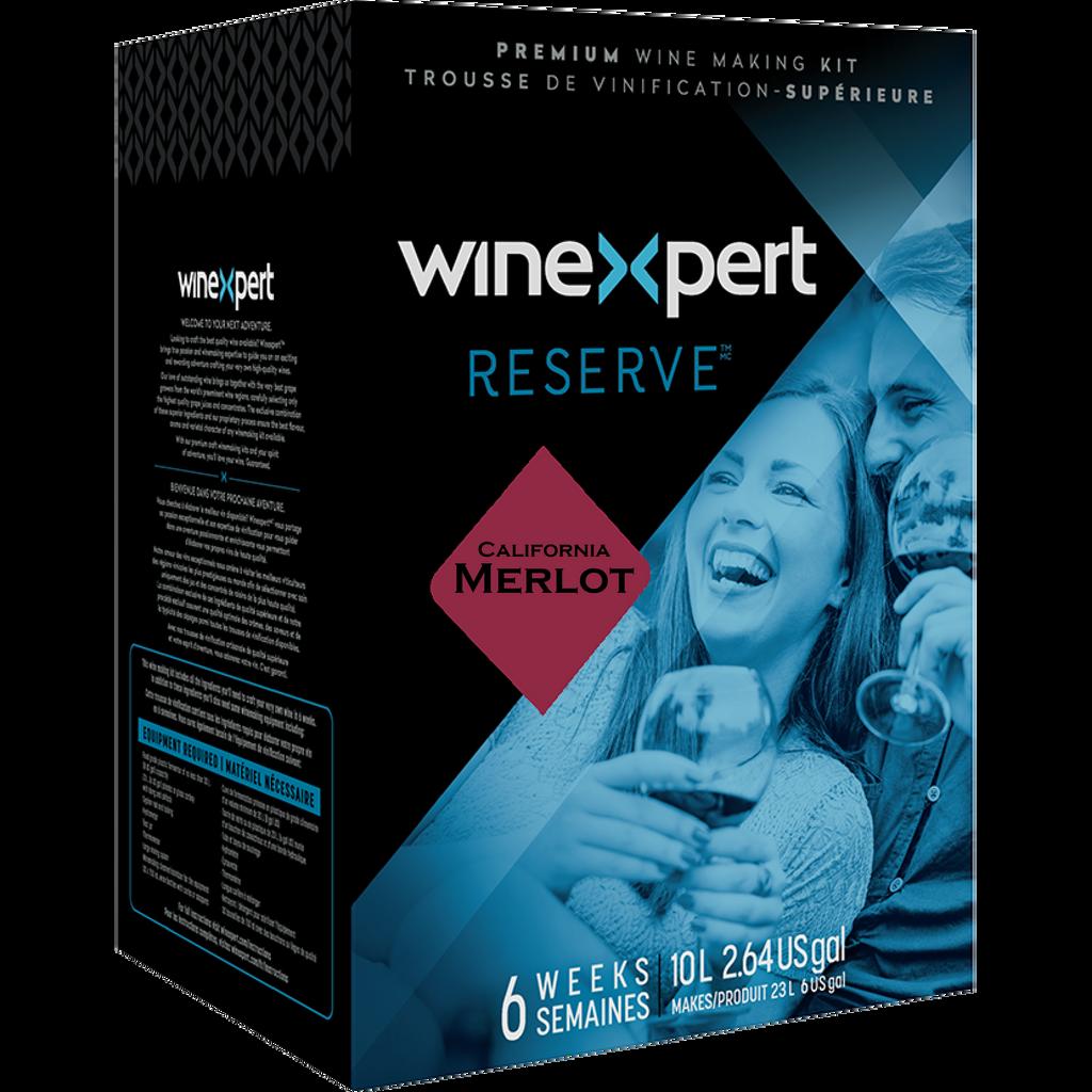 Reserve Californian Merlot Wine Kit