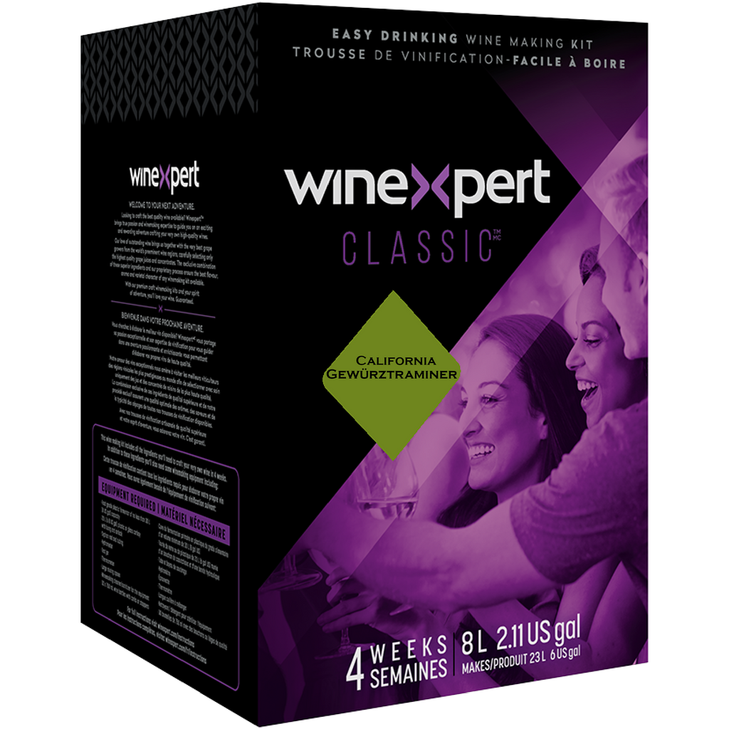 Classic California Gewurztraminer Wine Kit