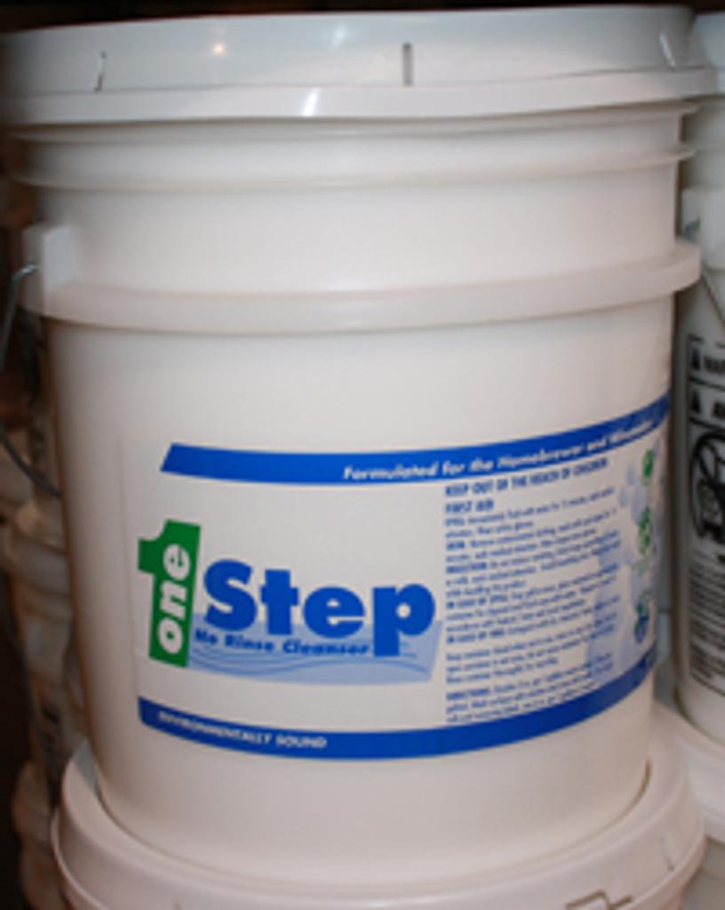 One Step 50 lb Bucket