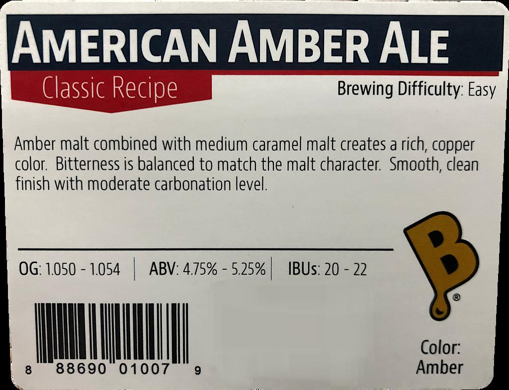 American Amber Beer Kit
