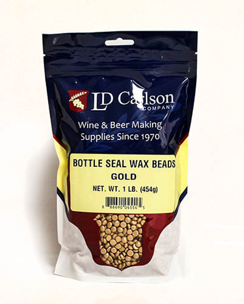 Gold Bottle Seal Wax Beads 1 lb