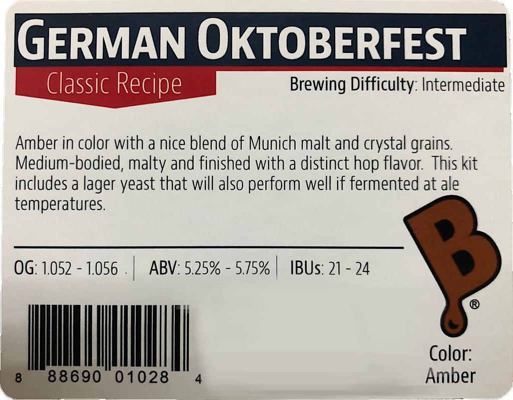 German Oktoberfest Beer Kit