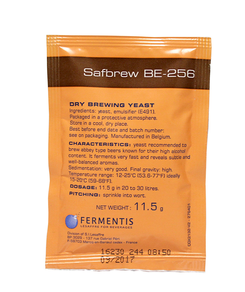 Safbrew BE-256 Abbaye Dry Ale Yeast
