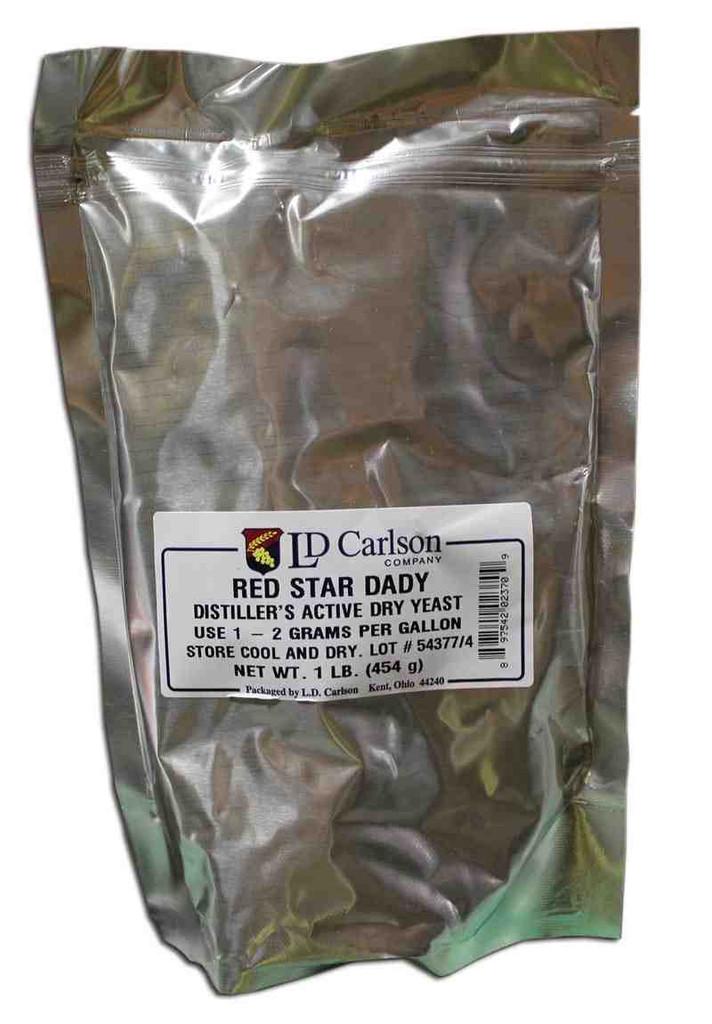 DADY - Red Star Distillers Yeast 1 lb