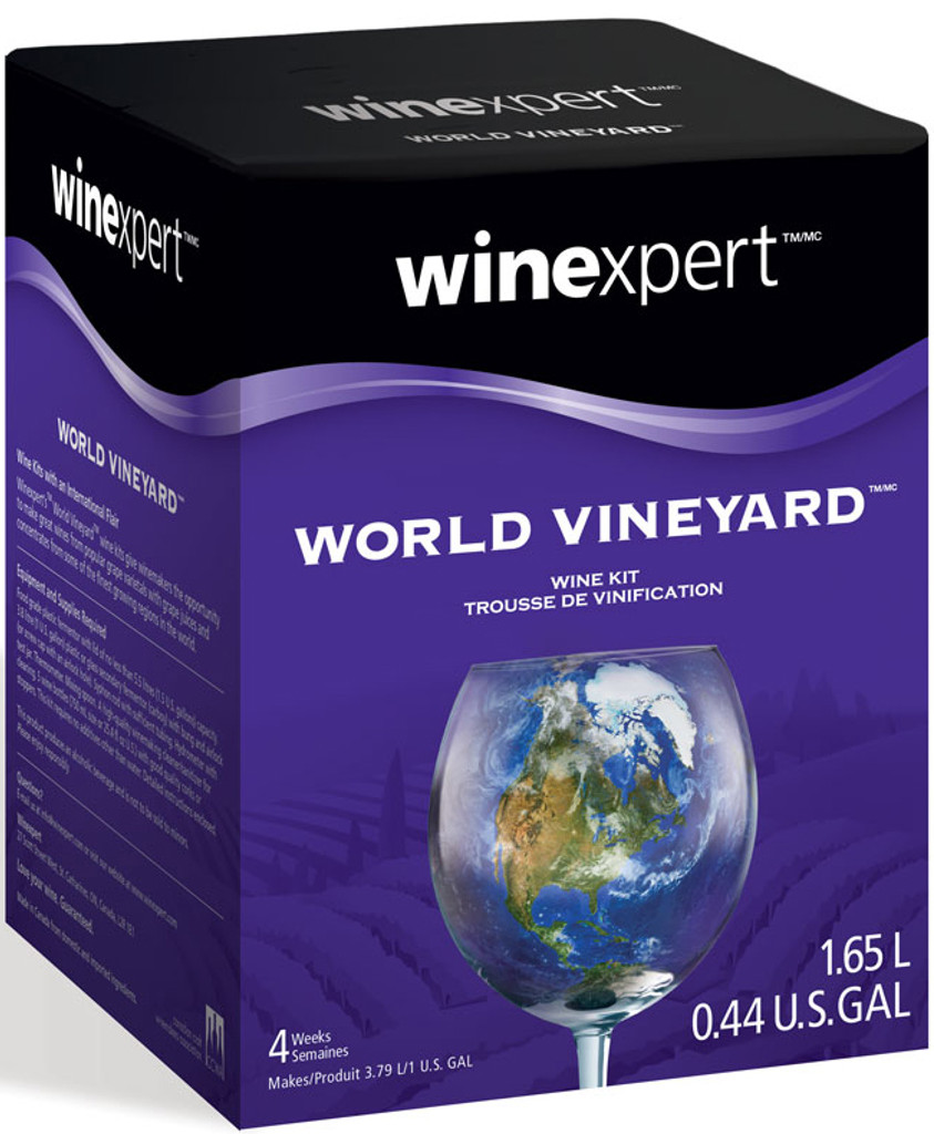 World Vineyard Chardonnay 1 Gallon Wine Kit