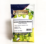 German Mandarina Bavaria Hop Pellets 1 lb