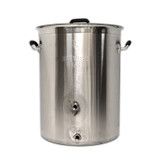 16 Gallon Brewers BeAst Brewing Kettle with Two Ports