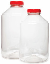 FerMonster PET Carboy 1 Gallon Includes Lid w/Hole - Case of 4