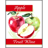 Apple Fruit Wine Labels 30 ct