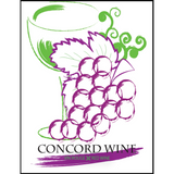 Concord Fruit Wine Labels 30 ct