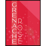 Grenache Rosé Wine Labels
