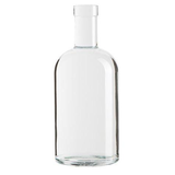 Clear Rum Bottle 750mL - Case of 12