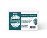 Raspberry with Green Tea Kombucha Ingredient Kit