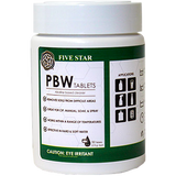2.5g PBW Tablets 50 ct.