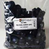 28 mm Polyseal Screw Caps 144 Count