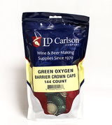 Green Crown Caps (Bag of 144)