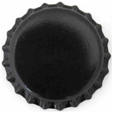 Black Crown Caps (Case of 10,000)