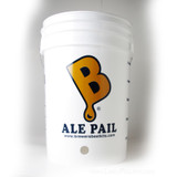 6.5 Gallon Bottling Bucket With 1 Inch Hole