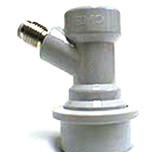 Ball Lock 1/4 inch MFL Threaded Gas Connector