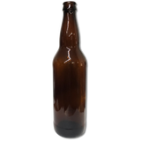 Amber Beer Bottles 22 Oz - 12 Count
