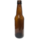 Amber Beer Bottles 12 oz - 24 Count