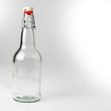 Clear Flip-Top 16 Oz. Bottles 12/Case
