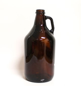 Amber Half Gallon Glass Jug (Case of 6)