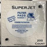 Buon Vino SuperJet Filter Pad #1 Coarse 5.0 Micron (200 ct)
