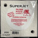 Buon Vino SuperJet Filter Pad #2 Sterile 1.8 Micron (200 ct)