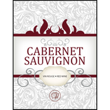 Cabernet Sauvignon Wine Labels 30 ct