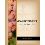 Gewurztraminer Wine Labels 30 ct