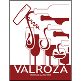 Valroza Wine Labels 30 ct