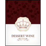 Dessert Wine Labels 30 ct