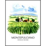 Montepulciano Wine Labels 30 ct