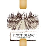 Pinot Blanc Labels 30 ct