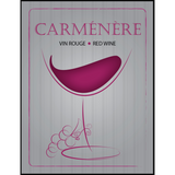Carmenere Wine Labels 30 ct