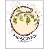 Moscato Wine Labels 30 ct