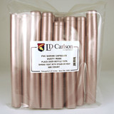 Dusty Rose PVC Shrink Capsules (500 Bulk)