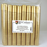 Gold/Black Grapes PVC Shrink Capsules (500 Bulk)