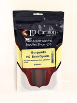Burgundy PVC Shrink Capsules (Bag Of 30)