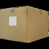 White PVC Shrink Capsules (Case Of 8,000)