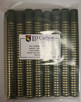 Green/Gold Grapes PVC Shrink Capsules (500 Bulk)