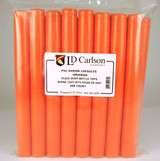 Orange PVC Shrink Capsules (500 Bulk)