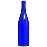 Cobalt Blue Hock Wine Bottles 750 mL - 12/Case