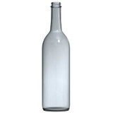 Screw Top Clear 750 ml Wine Bottles