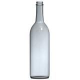 Screw Top Clear Wine Bottles 750 mL - 12/Case