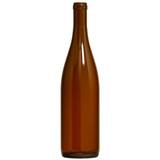 Amber Hock Wine Bottles 750 mL - 12/Case